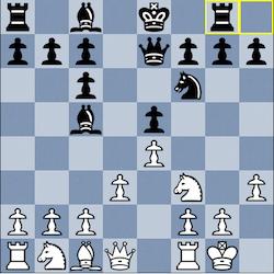 Aronian - Kramnik, 7...Rg8!
