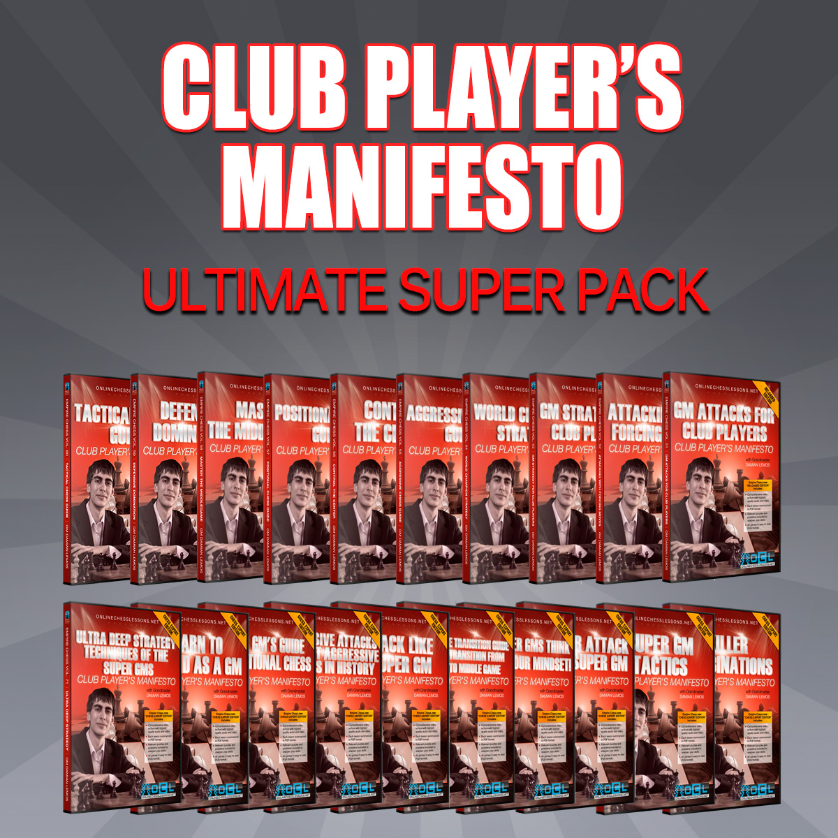 Empire Chess Club Player's Manifesto - Ultimate Super Pack