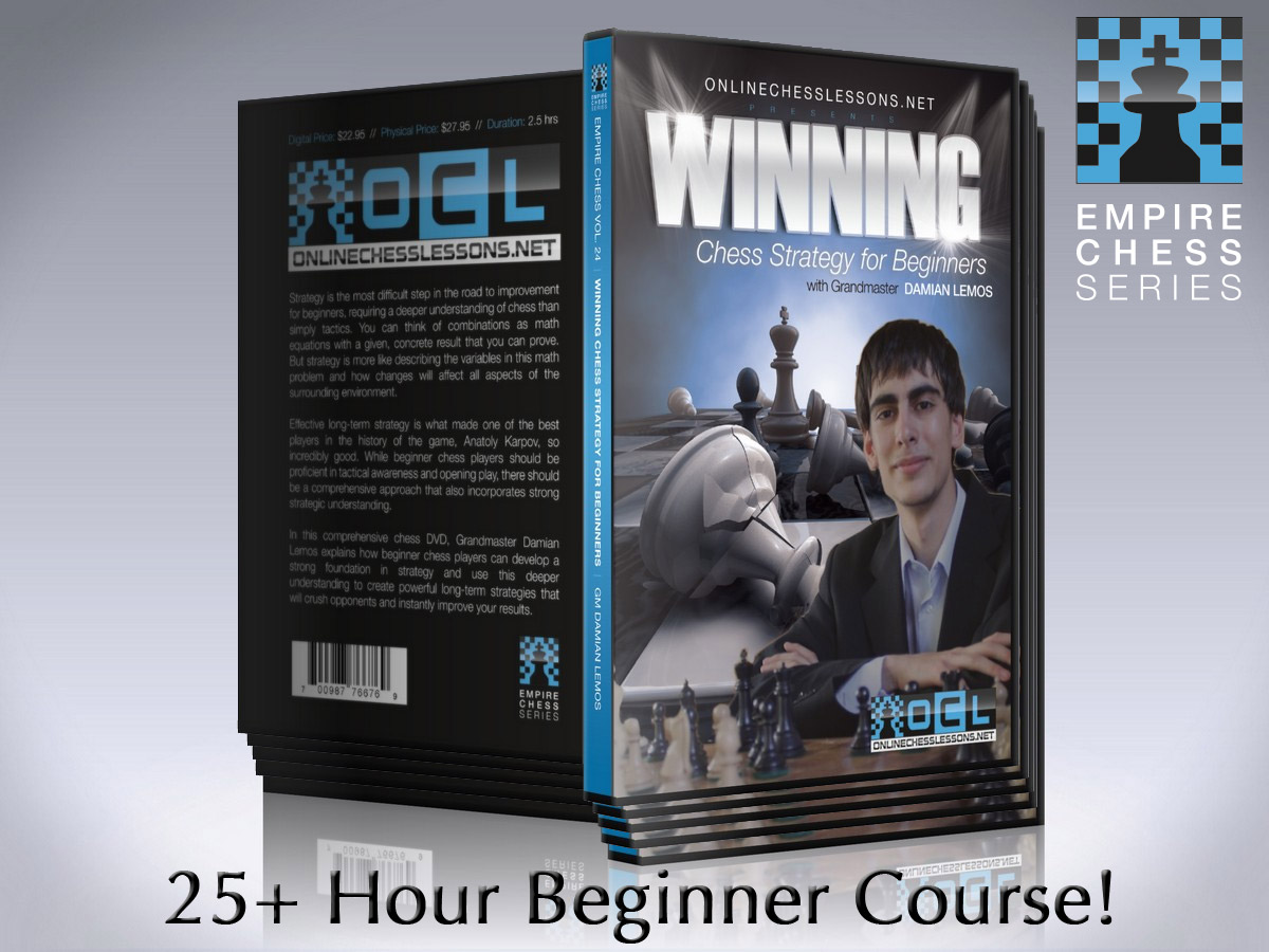 Beginner Chess Course DVDs