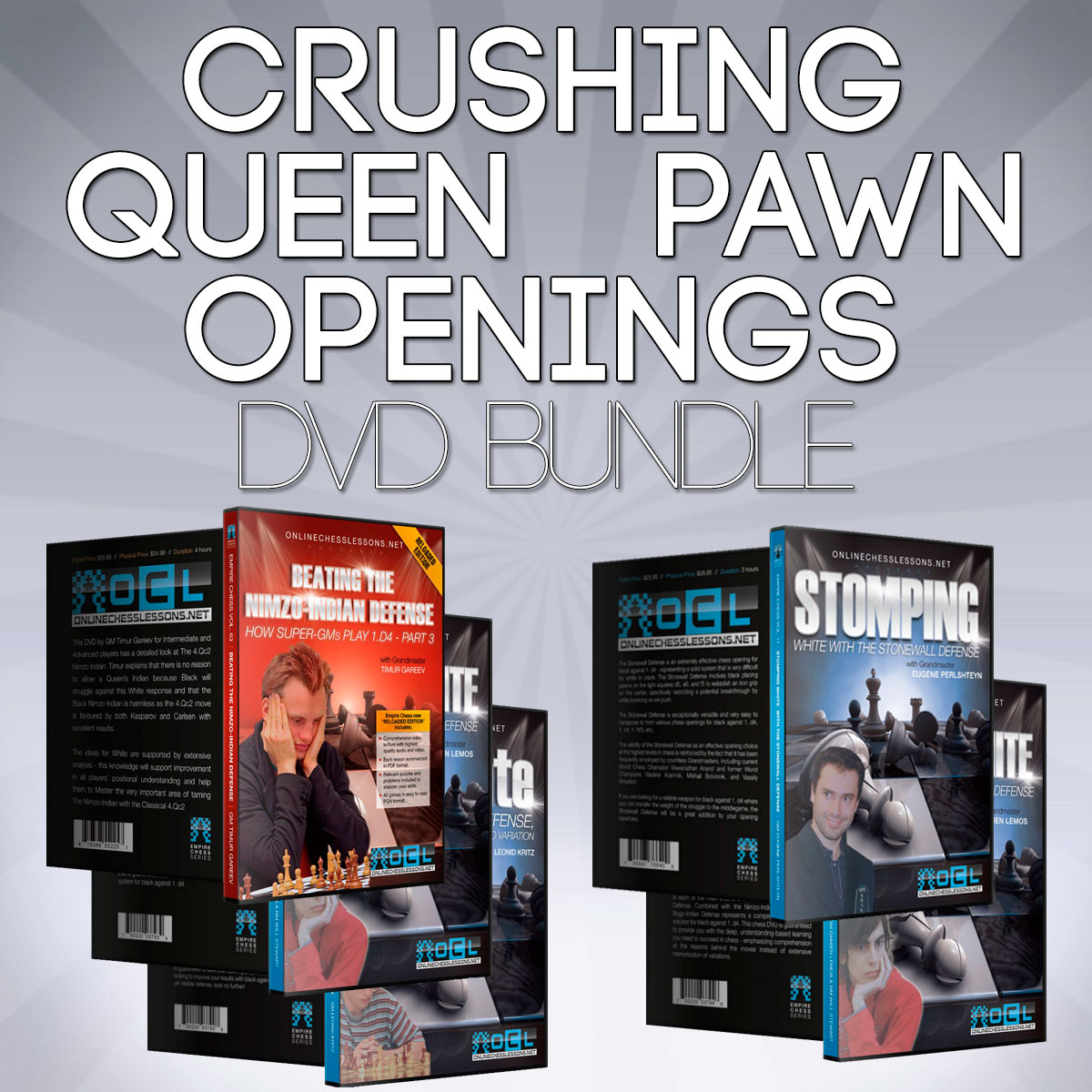 Crushing Queen Pawn Openings DVDs