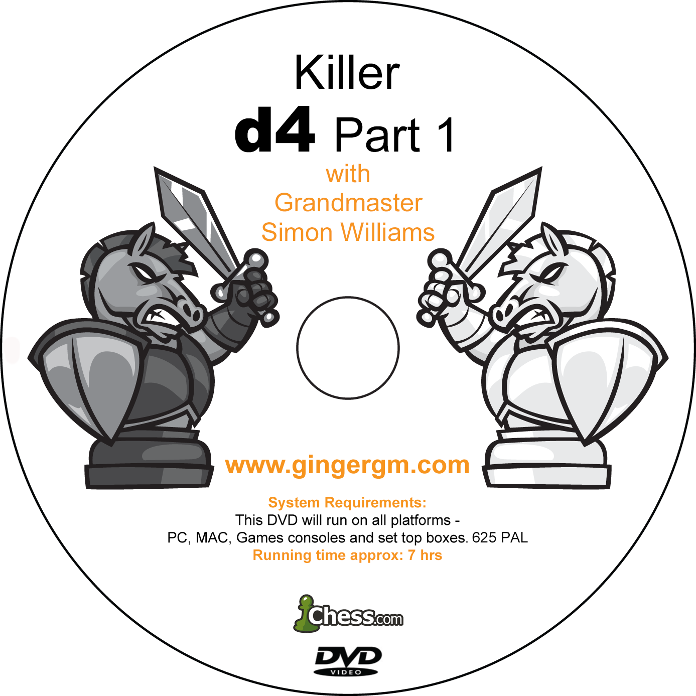 Killer d4 Part 1 Disc