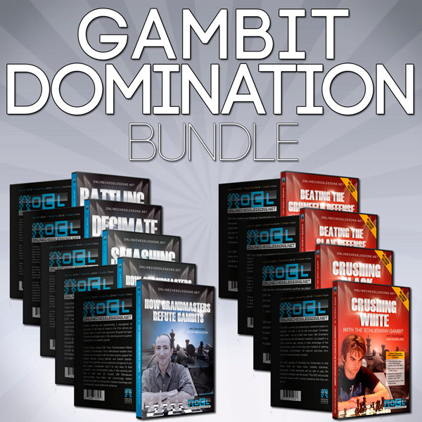 Empire Chess Gambit Domination Bundle - DVDs