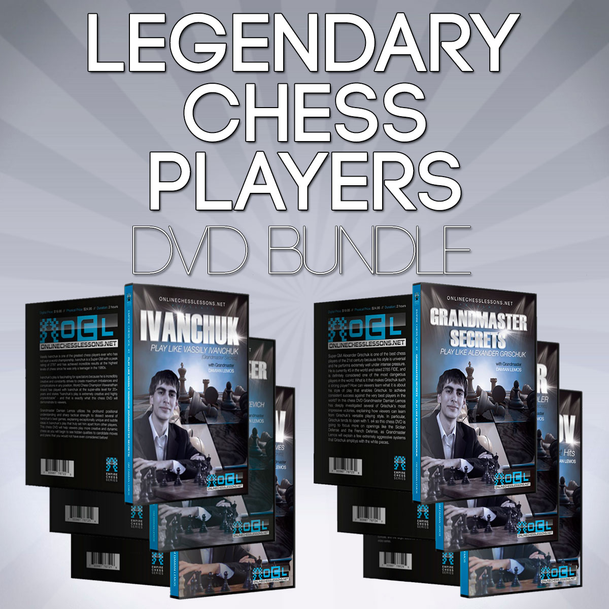 Empire Chess Legendary Chess Players Bundle