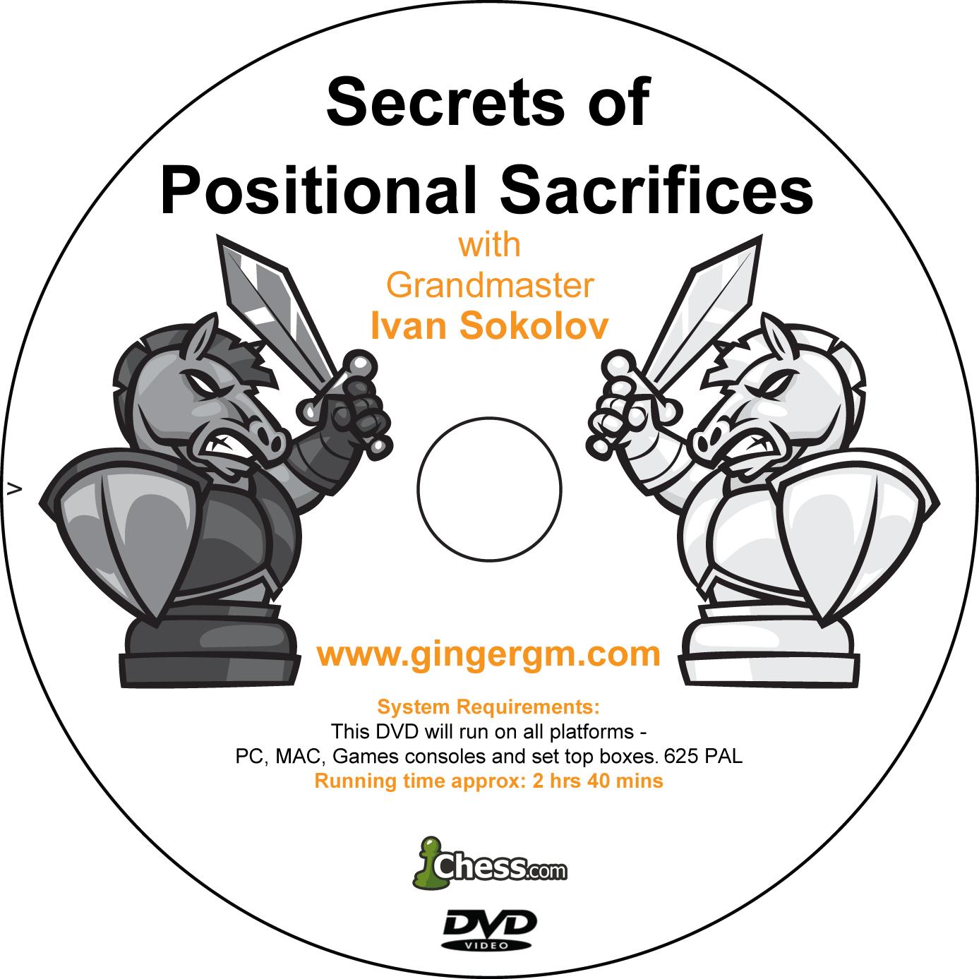 Secrets of Positional Sacrifices Disc