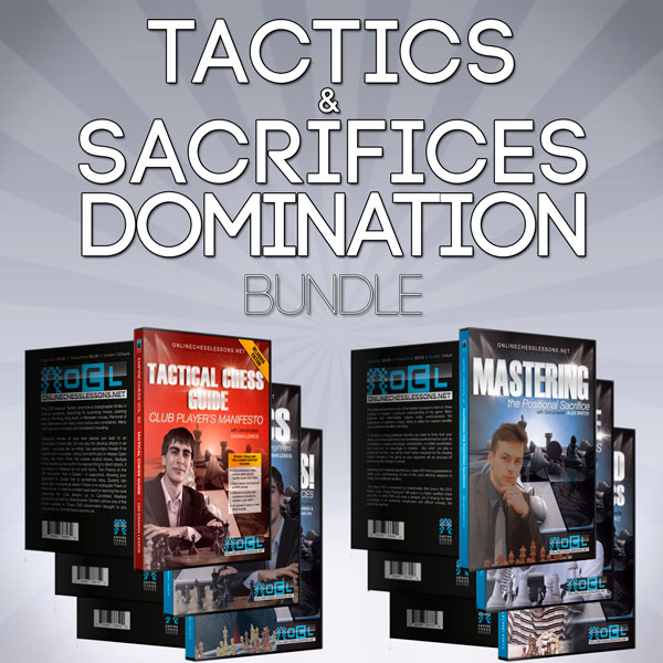 Empire Chess Tactics and Sacrifices Domination Bundle