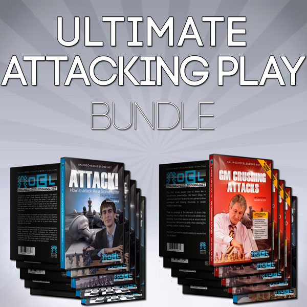 Ultimate Attacking Play Bundle DVDs